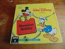 Super 8mm Color Silent Film Walt Disney Presents Hawaiian Holiday # 1405
