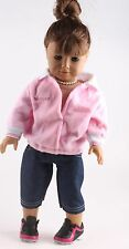 new set clothes Doll Handmade Doll Clothes for18 inch American Girl b455