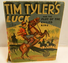 Vintage Whitman Better Little Book Tim Tyler's Luck a/t Plot of the Exiled King