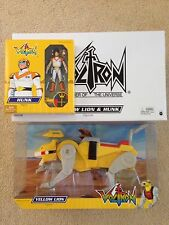 RARE MATTEL VOLTRON YELLOW LION AND HUNK MATTY COLLECTOR EXCLUSIVE SEALED FORCE