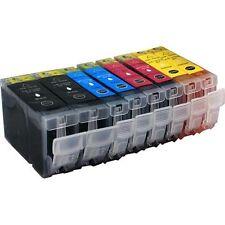8 Druckerpatronen für Canon IP 3300 ohne Chip