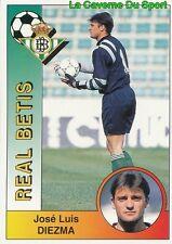 074 JOSE LUIS DIEZMA ESPANA REAL BETIS STICKER CROMO LIGA 1995 PANINI
