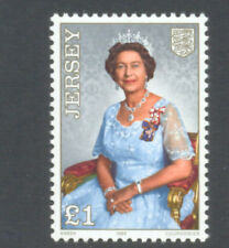 Jersey-Queen Elizabeth II 60th Birthday mnh - 1986-Royalty