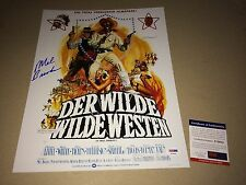 Mel Brooks BLAZING SADDLES Signed 11X14 Photo IN PERSON Gene Wilder PSA DNA COA