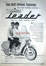 1959 Ariel 'LEADER 250cc Twin' Motor Cycle ADVERT (487f) - Original Print Ad