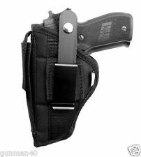 Side Gun holster with mag pouch For Jimenez Arms JA-9