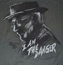 Breaking Bad I Am The Danger Graphic T-Shirt Officially Licensed Tee Size Small