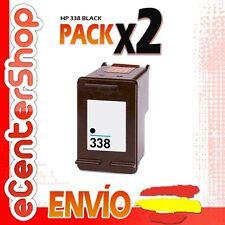 2 Cartuchos Tinta Negra / Negro HP 338 Reman HP Photosmart C3150