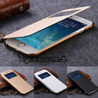 Luxury PU Leather Ultra-thin Flip Case Cover For Apple iPhone 5s 6 6s Plus