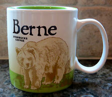 NWT Starbucks BERNE Switzerland Global Icon City Collector Series Mug with SKU