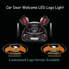 2pcs American Legion Riders Logo Car Door Laser Projector Shadow CREE LED Light