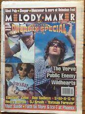 Melody Maker 15/7/95 Phoenix Festival, The Verve, Public Enemy, Wildhearts