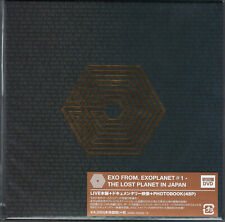 EXO-EXO FROM. EXOPLANET#1 - THE LOST PLANET IN...-JAPAN 2 DVD+BOOK Ltd/Ed K29