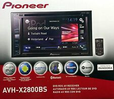 "NEW PIONEER AVH-X2800BS 2-DIN Bluetooth DVD/CD/AM/FM Receiver, 6.2"" Touchscreen"