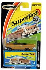 2004 Matchbox Superfast #50 1957 Lincoln Premiere