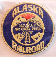 ALASKA Railroad PATCH McKinley National Park Route