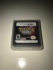 Pokemon Pearl Version Video Game w/ Case for Nintendo DS Lite TESTED