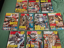 SPEEDWAY STAR MAGAZINES, 3 issues 2011, 4 issues 2012, 3 issues 2013,