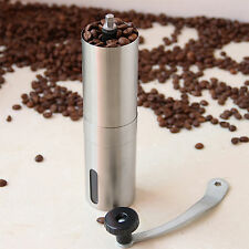 Manual Spice Coffee Bean Pepper Grinder Stainless Steel Burr Cafe Hand Uomere