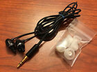 Genuine Klipsch Image S4 Black In Ear EarBud Headphones -Upgraded Plug -Warranty