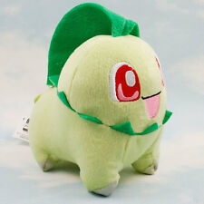 Pokémon Chikorita Souvenir Plush Soft Doll Toy Gift Stuffed Animal Game Collect