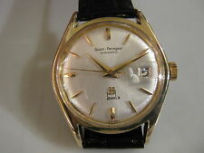 Classic Girard Perregaux Gyromatic 39 Jewels Date Men's 60's Rare Collections