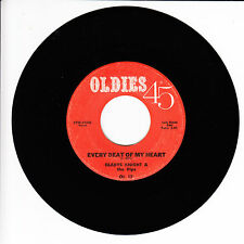 GLADYS KNIGHT & THE PIPS Every Beat Of My Heart VG 45 RPM REISSUE