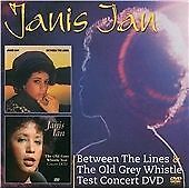 Janis Ian - Between The Lines & The Old Grey Whistle Test Concert CD & DVD NEW