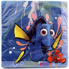 FINDING DORY LUNCH NAPKINS (16) ~ Birthday Party Supplies Dinner Serviettes