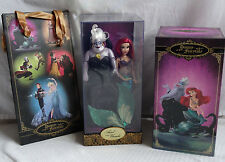 Disney Fairytale Designer Collection Doll Ariel  & Ursula Heroes Villains LE Set