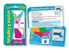 States & Capitals Flashcards Speech Therapy State Test