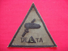 US 5th SFGrp SFOD B-52 Project DELTA - Vietnam War Hand Made Subdued Patch