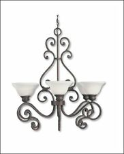 "Savoy House  Helena  Chandelier Rustic Bronze Finish 513-6-72  29""D 6LT"