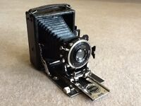 Ensign Cameo Folding Camera Made By Houghton Butcher With Aldis - Butcher Lens