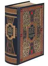 THE HOLY BIBLE: KING JAMES VERSION illustrated Gustave Dore Sealed Leather Bound