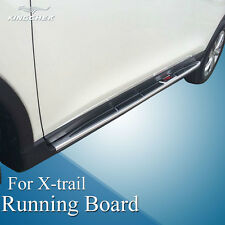 fit for Nissan X-Trail Rogue 2014-2016 running board side step nerf bar newest