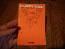 Vintage 1972 Hemorrhoids Brochure
