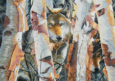 Dimensions Gold Counted Cross Stitch Kit - The Guardian Wolf Wolves, NEW