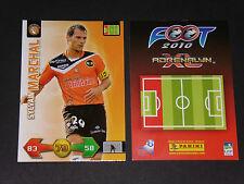 SYLVAIN MARCHAL LORIENT MERLUS MOUSTOIR PANINI FOOTBALL ADRENALYN CARD 2009-2010