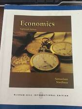 Economics (Paperback) by Paul A. Samuelson (Author), William D. Nordhaus