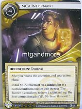 Android Netrunner LCG - 1x #036 MCA Informant - Station One