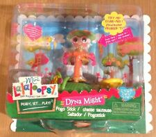 Mini Lalaloopsy doll & Playground- Dyna Might Pogo Stick