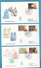 1999 SAN MARINO BUSTE FDC VENETIA VERSO ANNO GIUBILEO  ANNULLO SPECIALE + ARRIVO