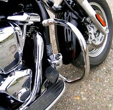 STAINLESS STEEL CLASSIC CRASH BAR ENGINE GUARD KAWASAKI VN 2000 VN2000 VULCAN