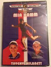 NEW SEALED SOCCER SECRETS FITNESS MIA HAMM DVD Beginner Intermediate Advanced