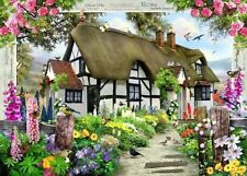 Ravensburger Rose Cottage 1000 piece country flowers jigsaw puzzle