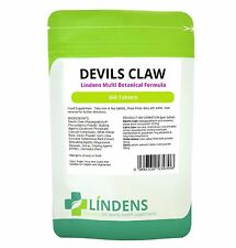 Devils Claw Formula Tablets 360 Pack Arthritis Joints Lindens Health Supplements