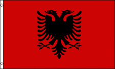 """""""ALBANIA"""" 2x3 ft flag polyester 2016 euro cup"""
