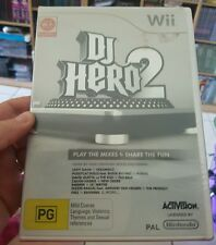 DJ Hero 2 NINTENDO WII - FREE POST