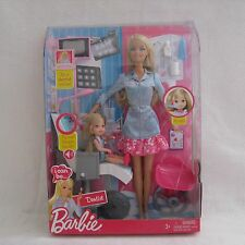 2009 Barbie I Can Be Dentist Complete Play Set ~NRFB~